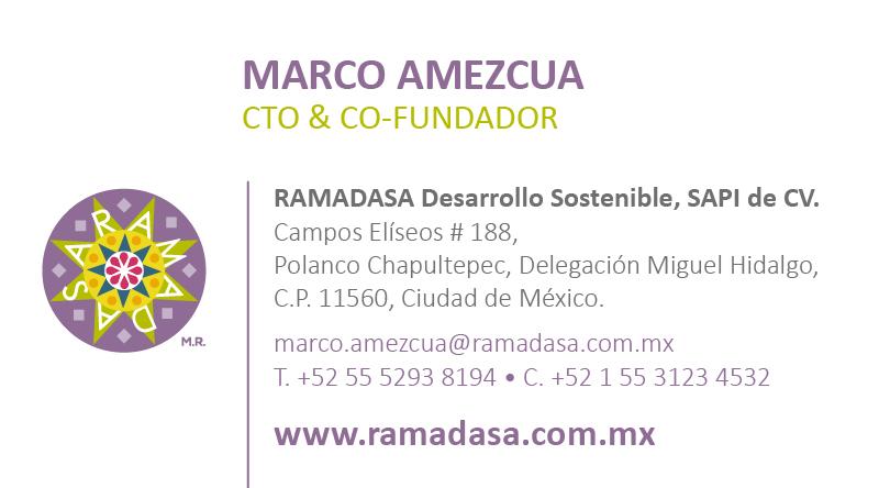 Marco Amezcua | Ramadasa